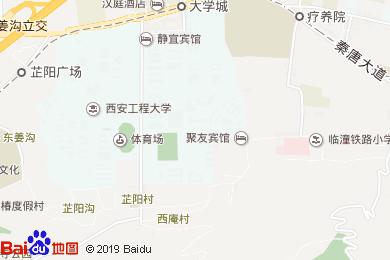 华清爱琴海国际温泉酒店御膳阁中餐厅地图