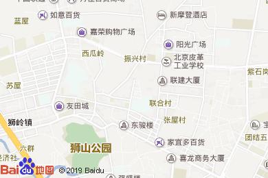 重慶面館(獅興商務酒店東北)地圖
