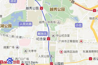 清晨酒店地图