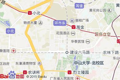 鸿德国际酒店地图