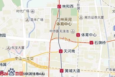 粤海喜来登酒店意大利餐厅地图