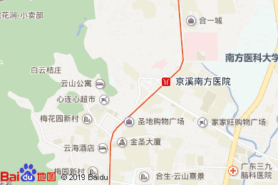 如家快捷酒店(圣地广场店茶餐厅)地图