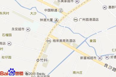 荔港酒店咖啡厅地图