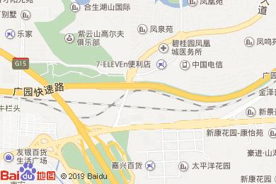 赏鲤苑酒店地图