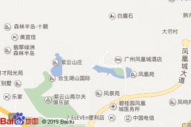 廣州鳳凰城酒店(鳳凰軒中餐廳)地圖