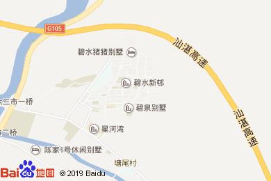 廣州明月山溪風情酒店地圖