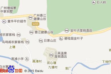 三英温泉度假酒店-中餐厅地图