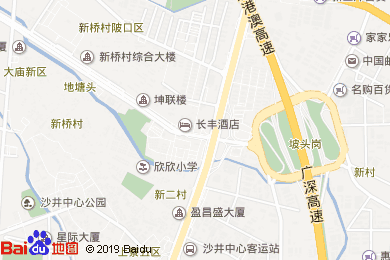 長豐酒店-大堂吧地圖