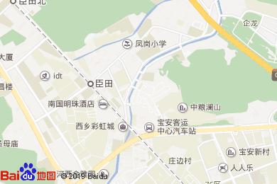 登喜路國際大酒店-咖啡廳地圖