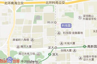 日月光酒店菜(科技園店)地圖