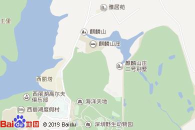 金百合大酒店宴会厅地图