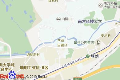 雅園塘朗酒店宴會廳地圖