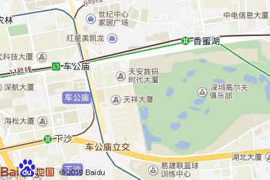 金茂JW万豪酒店大堂吧地图