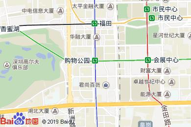 深航国际酒店(国际商会月饼代发点)地图