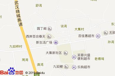 鴻龍灣大酒店地圖