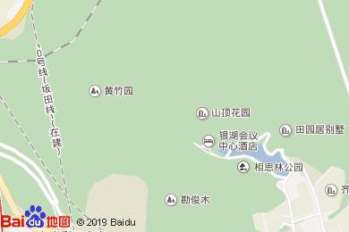 深圳银湖酒店大堂吧地图
