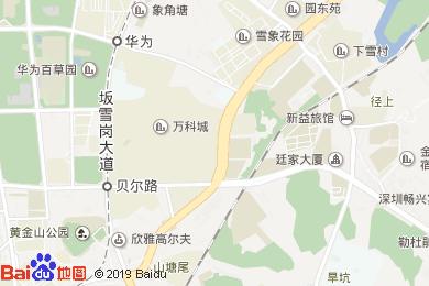 茉莉紅酒店地圖