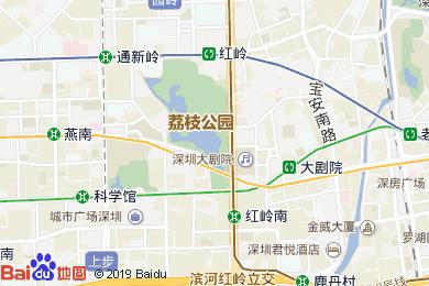 荔园酒店咖啡厅地图