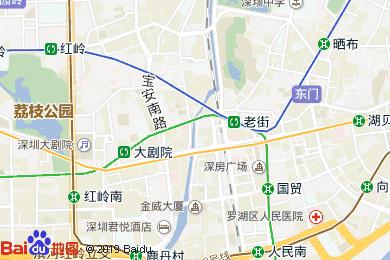 蓬客精品酒店中餐厅地图