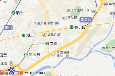 福利來紅酒店地圖