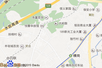 龙信山庄酒店餐厅地图