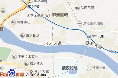 富華大酒店地圖