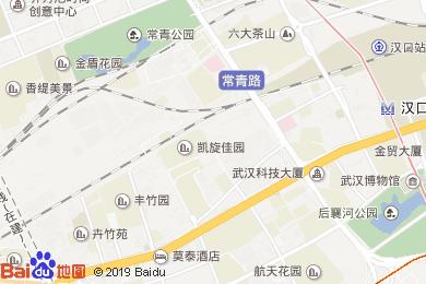 漢口泛海喜來登酒店宴會廳地圖