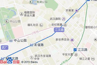晴川假日酒店月餅(漢口自提點)地圖
