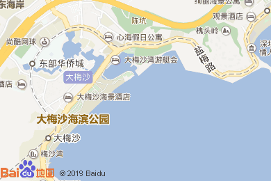 大梅沙京基喜來登度假酒店宴會廳地圖