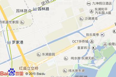 沁心源酒店(歡樂谷店)地圖
