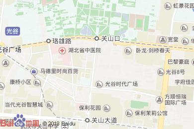 萬喜德臺灣風情酒店(光谷店)地圖