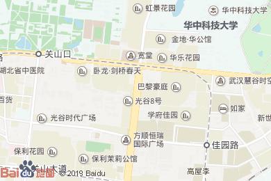 武漢光谷凱悅酒店Lobby Lounge-大堂吧地圖