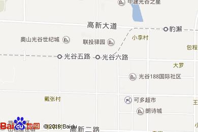 紐賓凱光谷國際酒店-中餐廳地圖