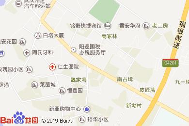 漢川大酒店地圖