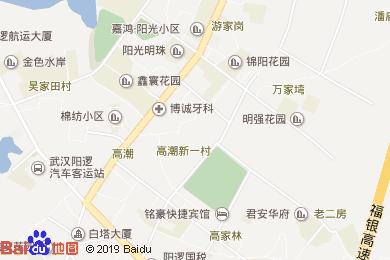 煦東美食酒店地圖