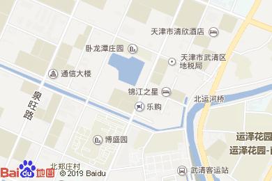 都市118連鎖酒店餐廳(武清店)地圖