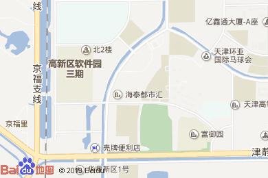 天津环亚国际马球会大酒店-万马奔腾喷泉地图
