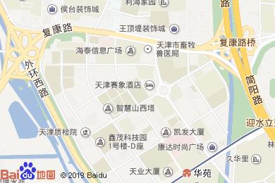 鑫茂天財酒店宴會廳地圖
