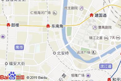 华信半岛酒店-中餐厅地图