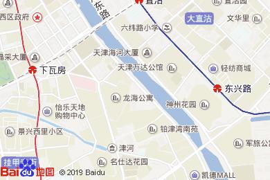 如家快捷酒店解放南路店餐廳地圖
