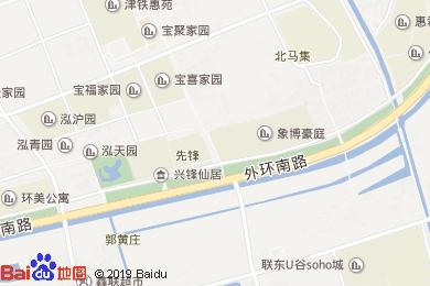 汇鲜美酒店地图