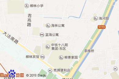 柳林賓館-餐廳地圖