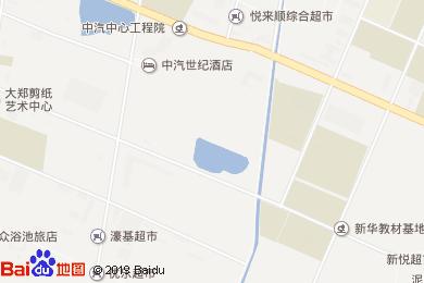 中汽世紀酒店東麗店-水吧地圖