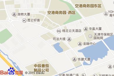 空港白云酒店宴会厅地图
