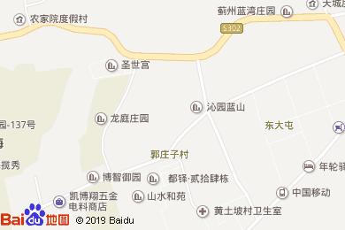 万豪中餐厅(京蓟圣光万豪酒店)地图
