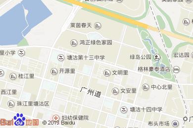 戴斯碧海湾酒店中餐厅地图