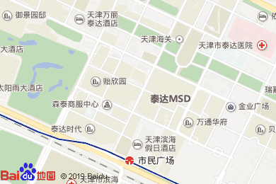 濱海喜來登酒店宴會廳地圖