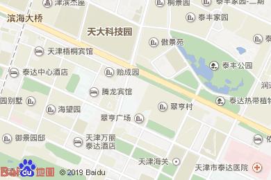 白云賓館-西餐廳地圖