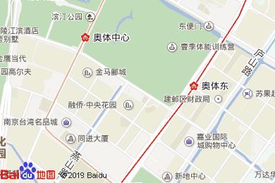 盛世金陵酒店地图