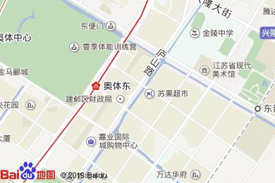南京涵月樓酒店-咖啡廳地圖